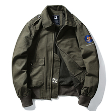 Winter Pilots Jacket Men Military Casual Warm Japanese Stree