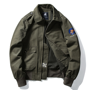 Winter Pilots Jacket Men Milit
