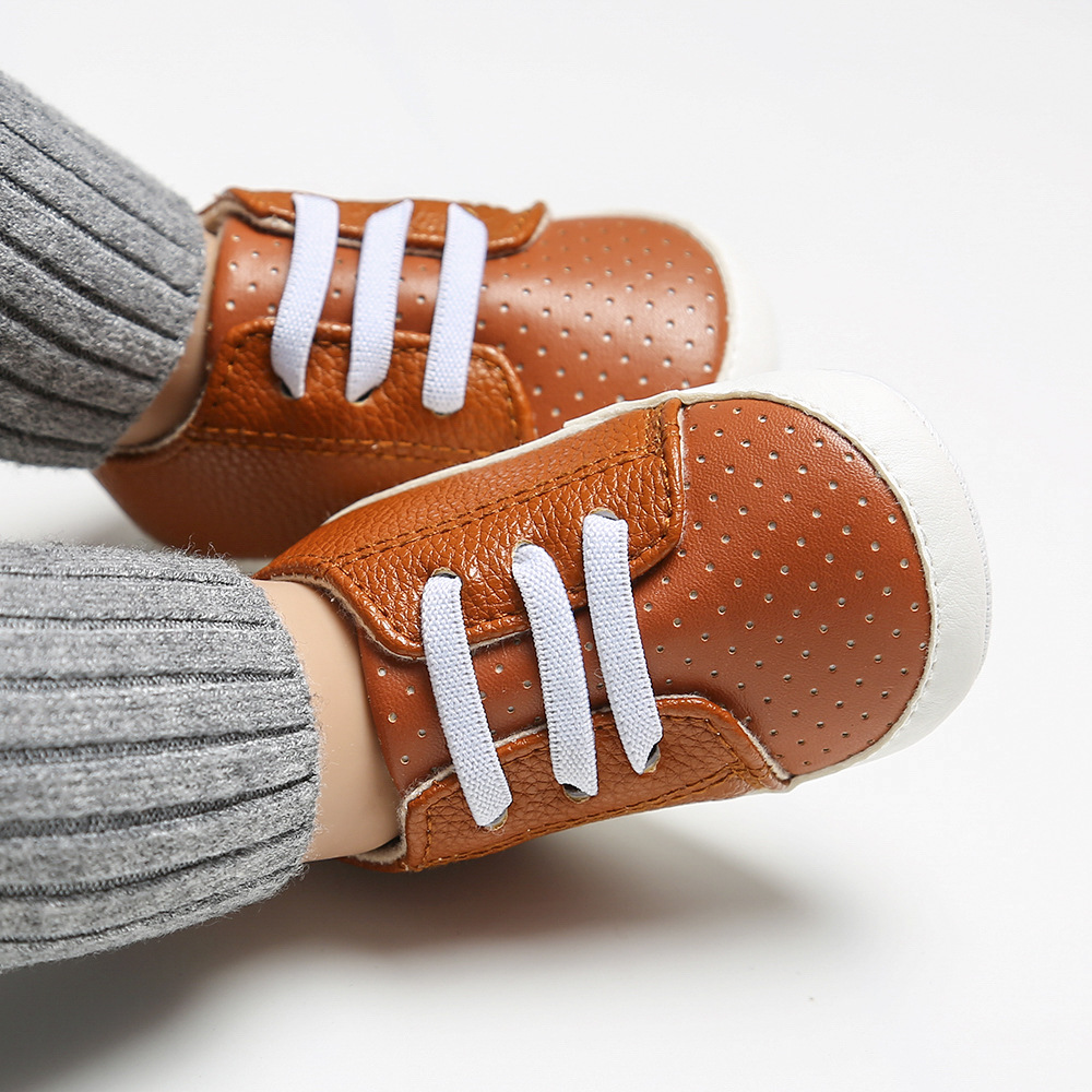 First Walkers Boy Shoes Unisex Canvas Classic  Sneakers Newborn Baby Boys Girls Infant Toddler Soft Sole Anti-slip Baby Shoes