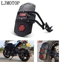 Motocicleta pára-lamas traseiro pneu hugger respingo guarda capa acessórios para kawasaki ninja 250 ninja 300r z250 z300