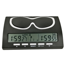 Digital Chess Timer Professional Digital Chess Clock Count Down Timer for Board Games
