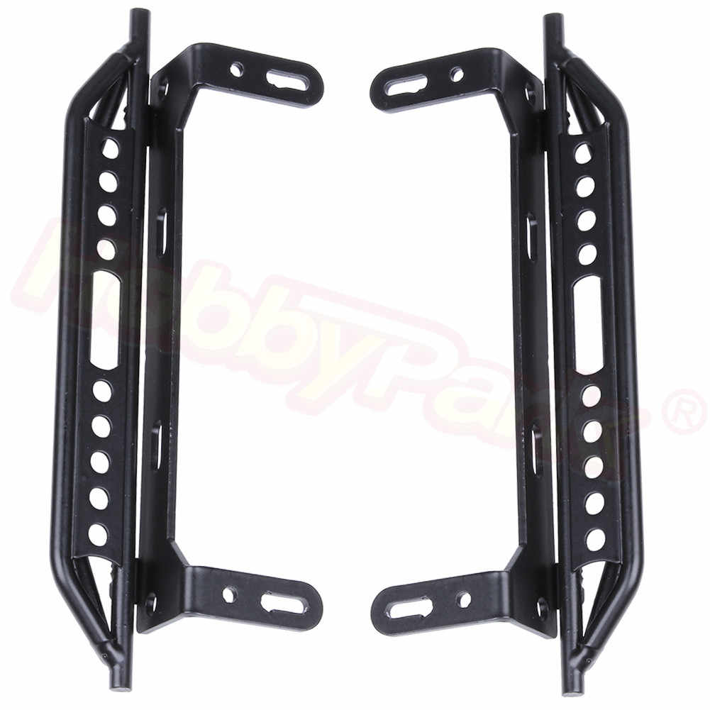 2Pcs//Set Simulated Climber Metal Foot Side Step For 1//10 RC TRX-4 Alloy Pedals