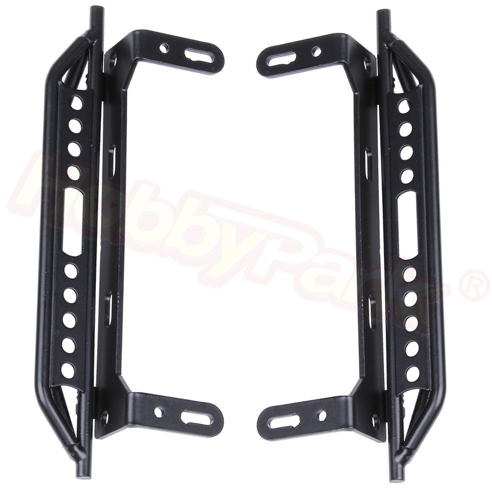 TRX4 Metal Side Pedal Step Running Boards Foot-Plate for Traxxas TRX-4 <font><b>1/10</b></font> RC <font><b>Crawler</b></font> <font><b>Body</b></font> Shell Accessories image