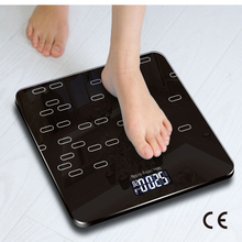 CE Certification Weight Scale Body Electronic Dry Battery Scale Household Accurate Adult ChildHealth Weighing Electronic Scale cheap Loose Sakura Square Ai01