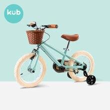 Bicicleta infantil de 14/16 polegadas, bicicleta para meninos e meninas de 3 - 9 anos, princesa, vintage, equilíbrio para crianças com roda auxiliar