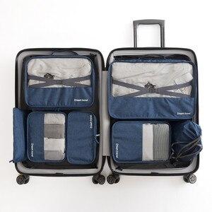 7Pcs/Set Casual Travel Bag Uni