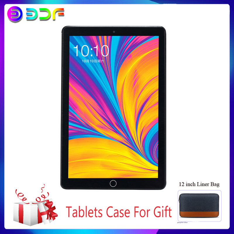 RU Stock 10.1 Inch 3G Phone Call Android Tablet WiFi Gaming Tab 4GB RAM 64GB ROM MTK6753 Processor Octa Core Tablet PC