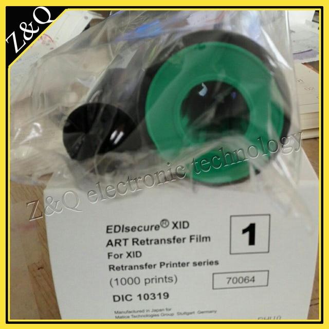 Matica XID8600 and XID8300 UV ribbon DIC10313 and Retransfer Film DIC10319
