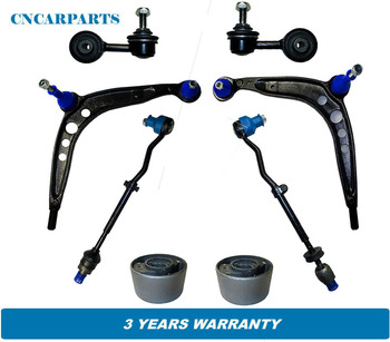 Front Suspension Control Arms Kit 8pcs Fit for BMW E30 318i 318is 325 325e 325es image