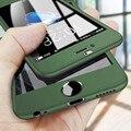 Cobertura completa 360 funda de teléfono para iPhone 7 6 6s 8 Plus 11 Pro Max funda protectora para iPhone 11 XS Max XR X 5 5s con cristal