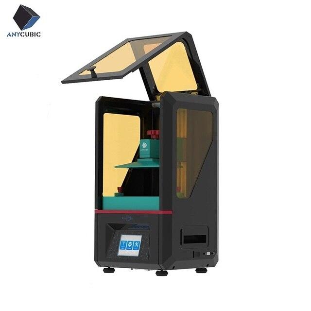 2019 Anycubic פוטון 3D מדפסת ערכות SLA/LCD דיוק גבוה בתוספת גודל פוטון מבצע אור ריפוי brasil armazém impressora 3d