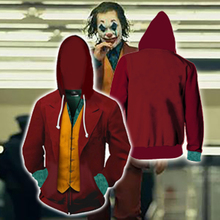 Cosplay Costume Sweatshirt Joker Women Hoodie Jacket Halloween Anime Coats Top Christmas-Bat