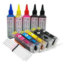PGI-450 CLI-451 комплекты для заправки чернил совместим с Canon PIXMA IP7240 MG5440 MG5540 MG6440 MG6640 MG5640 MX924 MX724 IX6840 принтер