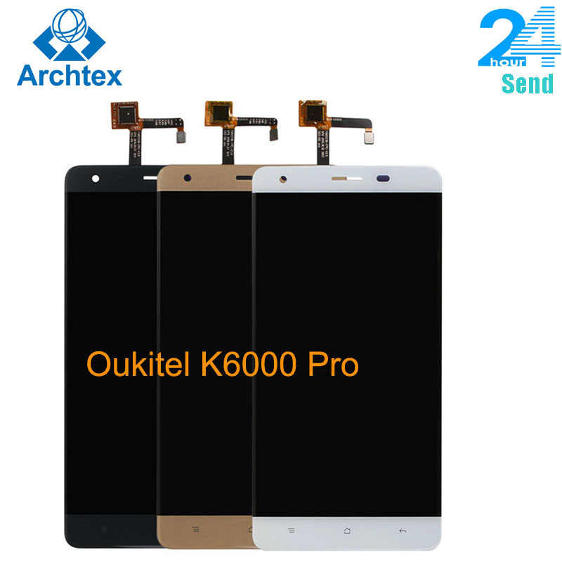"Per Oukitel K6000 Pro LCD originale nel telefono cellulare Display LCD Touch Screen Digitizer Assembly LCD strumenti 5.5 ""1920x1080P Stock"