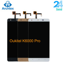 For Original Oukitel K6000 Pro LCD in Mobile phone LCD Displ