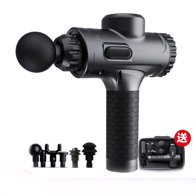 2020 fitness massagegun electric fascial gun Mini muscle fascial massage gun