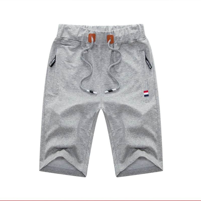 Summer Men Japanese-style Sports Shorts Pure Cotton Loose And Plus-sized Shorts Teenager Thin Casual Beach Shorts Fashion