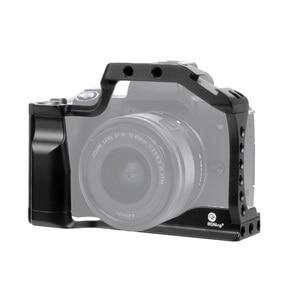 Image 4 - BGNING DSLR 카메라 케이지 캐논 EOS M50 M5 핸들 그립 세트 w/ 1/4 3/8 장착 구멍 블로깅 모니터 마이크 용 콜드 슈