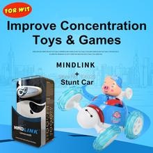 Toys Games Stunt Brain Wave Mindlink Ce with Car Concentration-Training-App Thought-Control-Detector