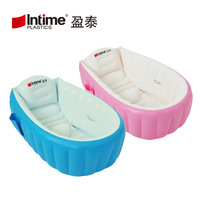 Baby Inflatable Tub Thick Insulated Newborns Tub Folding Infants Inflatable Bathtub Swimming Pool