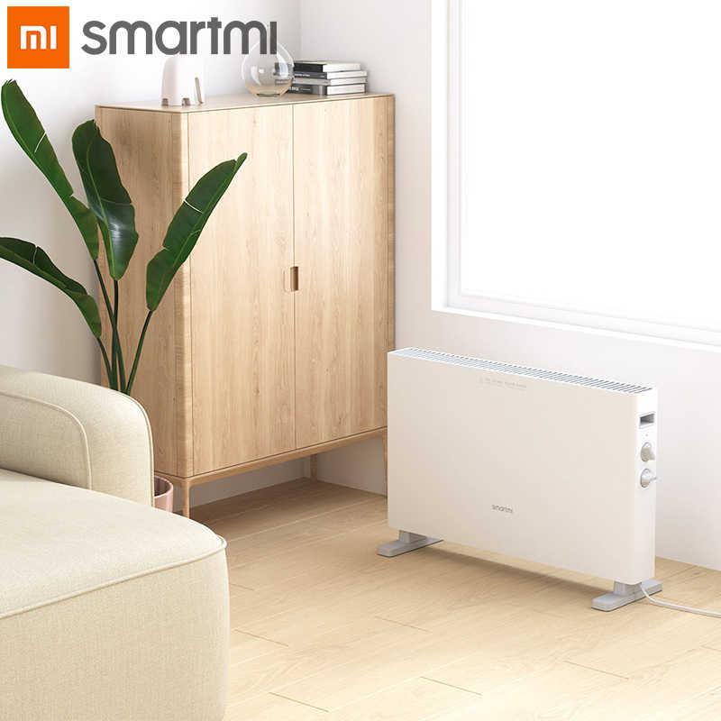 Smartmi Riscaldatore Elettrico 1S Versione Intelligente Veloce Riscaldatori a portata di mano per la casa camera Veloce Termoconvettore camino ventilatore a muro warmeheating