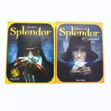 Masa oyunu, Splendor İngilizce sürüm kauçuk oyun halısı aile toplama bulmaca oyunu eğlence.
