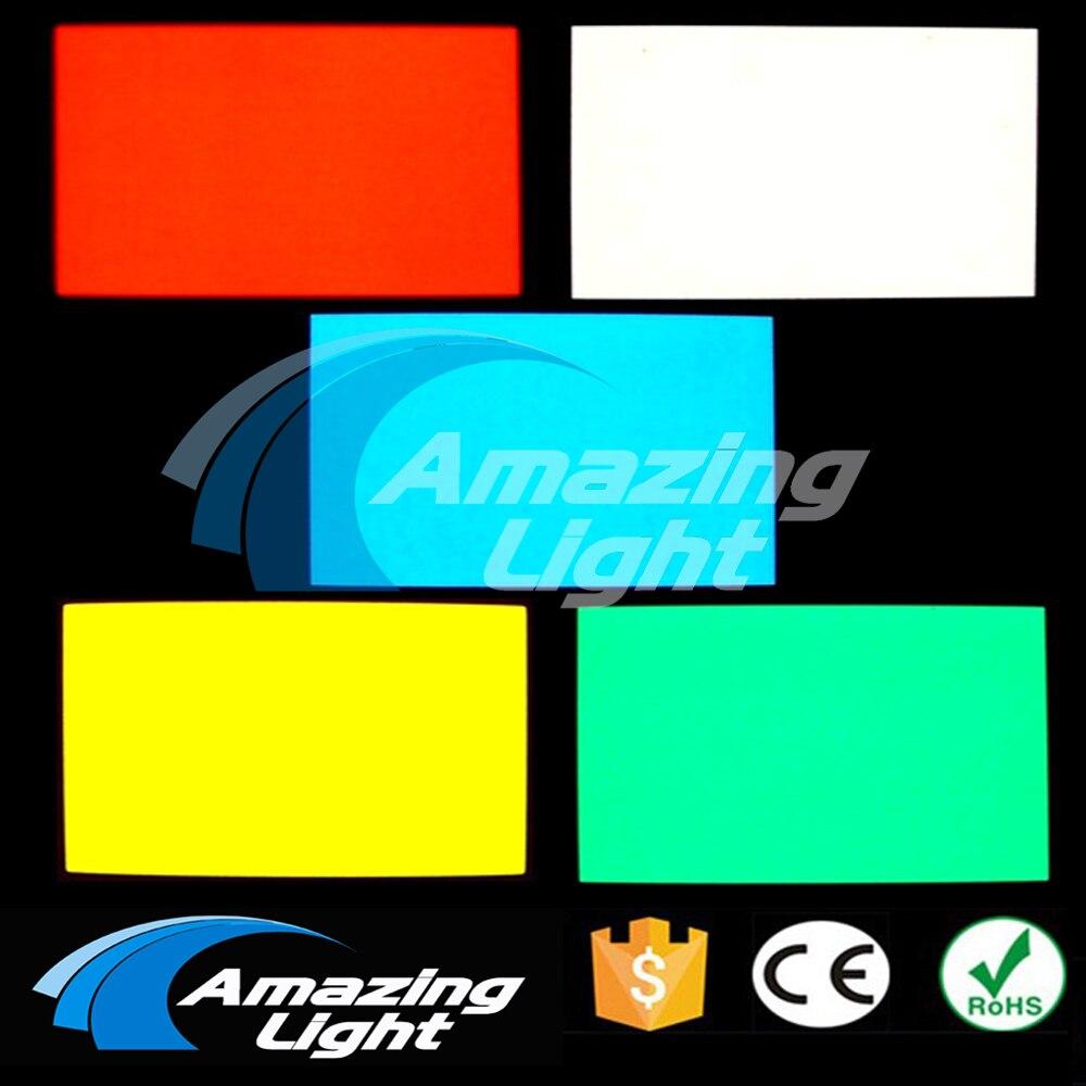 Wholesale 6cmx4cm DC12 volt green color EL Backlight High Brightness led backlight