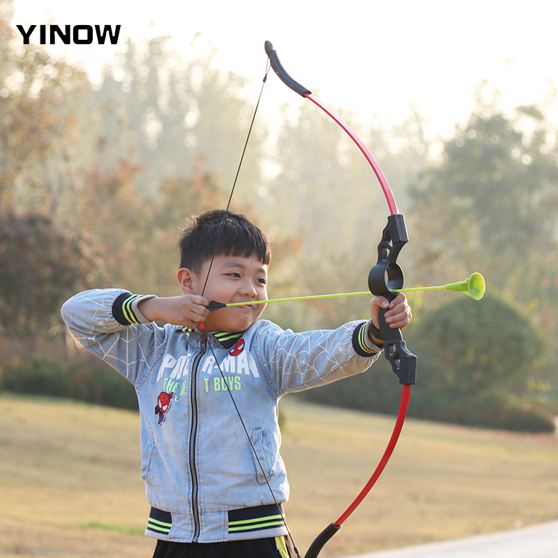 Children's Bow And Arrow Safety Sucker Parent-child Entertainment Kid Bow Outdoor Shooting Leisure Sucker