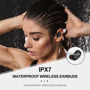 Image 4 - Whizzer B6 TWS Bluetooth 5,0 IPX7 resistente al agua actualización verdadera auriculares inalámbricos soporte Aptx/AAC 45h tiempo de reproducción para iOS/Android