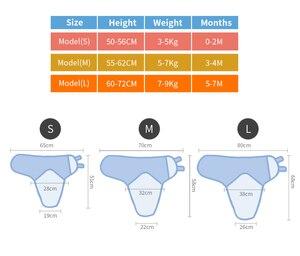 Image 5 - Insulare 2 pz/set Del Bambino Sacco A Pelo Bozzolo Neonati Infant Knit Del Cotone Del Bambino Swaddles Coperte Avvolgenti Sacco di Sonno Per 0 7 mesi