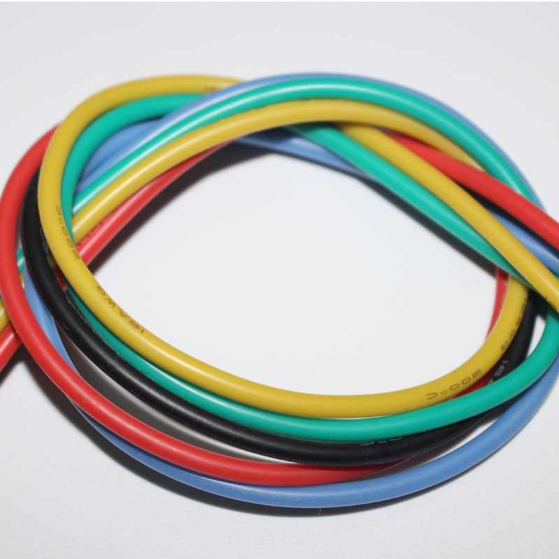 1 meter 14AWG Silikon Draht Ultra Flexiable Kabel 2mm2 Hohe Temperatur Test Linie Draht