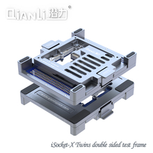 QIANLI motherboard layered double-sided test stand iPhone X Apple mobile phone repair fixture For