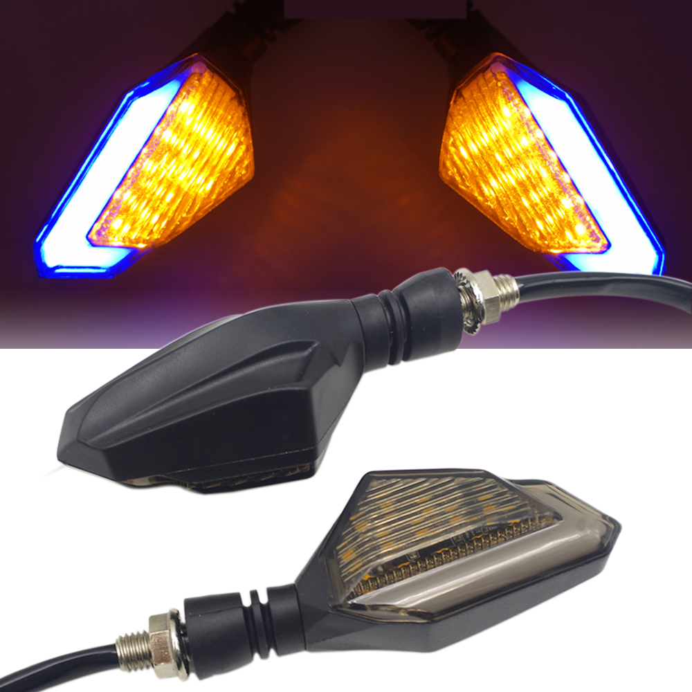 FOR Suzuki Hayabusa Honda Rebel Cbr 954  Motorcycle Accessories Turn Signal Lights Indicator Led Blinker Amber Flasher Light