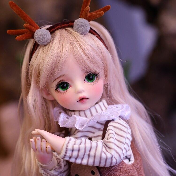 Bjd кукла 30 см, горячая Распродажа, кукла для новорожденных с одеждой, сменные глаза, кукла сделай сам, лучший подарок на день Святого Валентин...