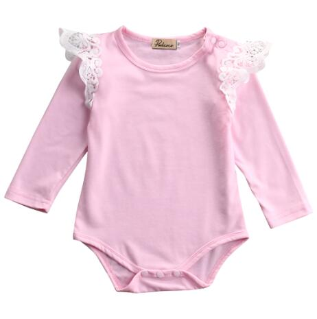 Baby Romper One-Pieces Newborn Kids Infant Baby Girl Clothes Lace Romper Jumpsuit Outfit