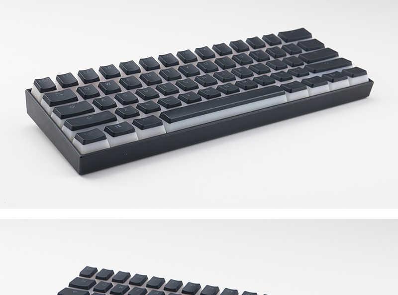 Plum Mechanical Keyboard Keycaps PBT Keycaps Customizable Keycaps OEM 104-Key Suitable for Cherry MX Switch