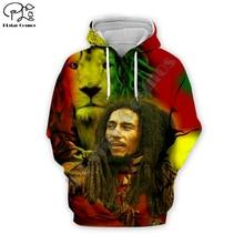 PLstar Cosmos Reggae Bob Marley Tracksuit Colorful 3DPrint Hoodie/Sweatshirt/Jacket/shirts Men Women hiphop casual new fashion Swag cool s-9