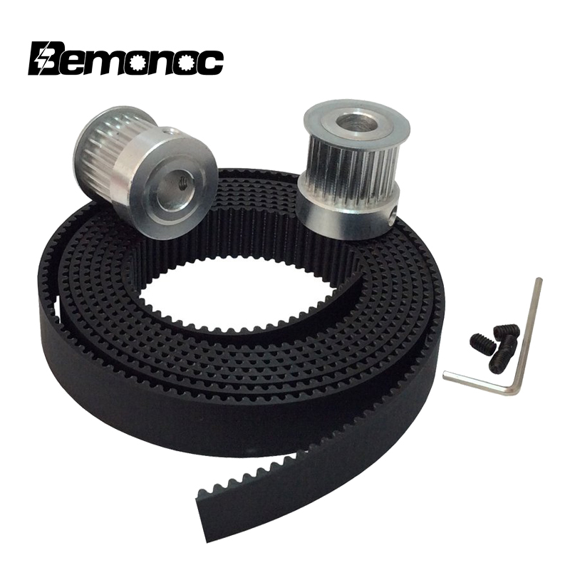 BEMONOC 10Meters 3M Open Ended Timing Belt Width 15mm Colour White Polyurethane Belt for Laser Engraving CNC Machines /& 10pcs 24 Teeth HTD 3M Timing Pulley Bore 6mm 6.35mm 8mm 10mm 12mm 14mm