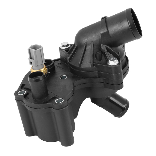 X Autohaux รถ Thermostat HOUSING 92 °C 2L2E9K478BA สำหรับ Ford Explorer Sport Trac / Ranger 4.0 เครื่องยนต์ Thermostat HOUSING