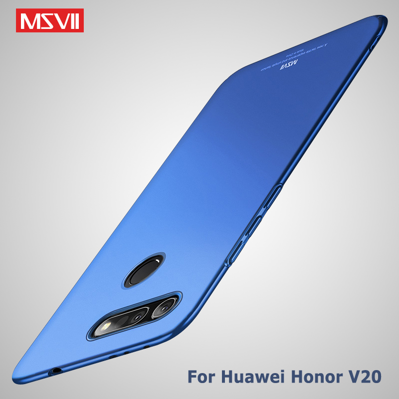 Honor View 20 Case MSVII Slim Frosted Cover For Huawei Honor View 20 V20 Case PC Cover For Huawei Honor View 10 Lite V10 Case