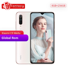 "Global Rom Xiao mi mi CC9 meitu CUSTOM Versie Cc 9 8 gb 256GB mobiele TELEFOON Snapdragon 710 48MP triple Camera 6.39 ""AMOLED Screen"