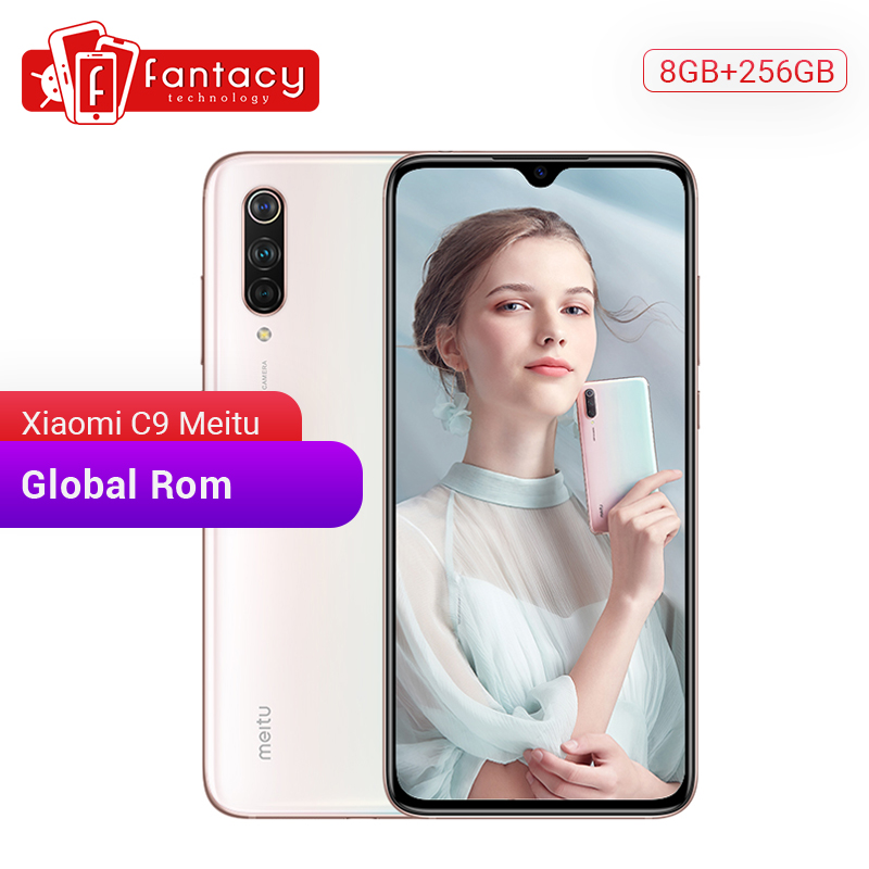 Global Rom Xiaomi Mi CC9 Meitu Custom Version CC 9 8GB 256GB Mobile Phone Snapdragon 710 48MP Triple Camera 6.39