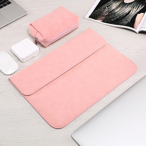Image 3 - Matte Soft Laptop Sleeve Bags Case For Apple Macbook Air 13 11 Retina 15 13 12 inch,cover for 2019 new Pro 16 With power pack