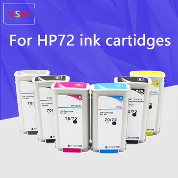 130ML Compatible for HP72 HP72 HP 72 hp72 72 ink cartridges for HP Designjet T1100 T1120 T1120ps T1100ps 1100 T610T1100 printer image