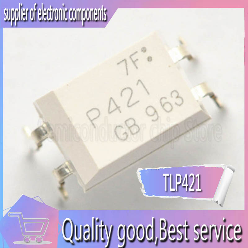 10PCS New Imported Original TLP421 TLP421GB P421 TLP421-1GB Optocoupler