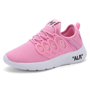Image 1 - Girls Sport Shoes 2020 Autumn Breathable Children Leisure Sneakers Toddler Kids for Boys Baby Breathable Running Shoes EUR28 39