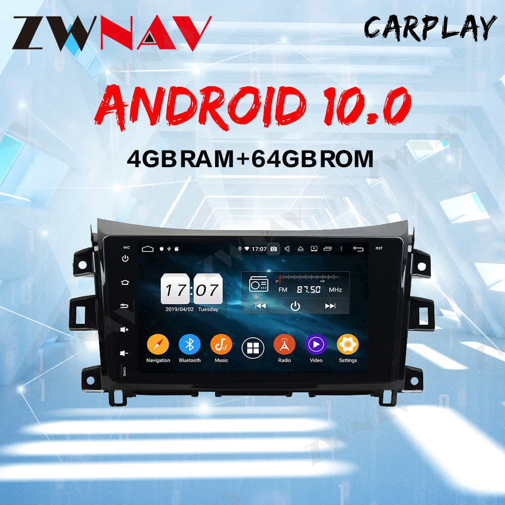 Android 10 <font><b>1Din</b></font> <font><b>Car</b></font> radio <font><b>Multimedia</b></font> For Nissan NAVARA Frontier NP 300 2011-2016 <font><b>Car</b></font> <font><b>Player</b></font> Navigation GPS Radio image