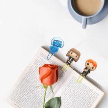 50 pçs ícone quente marcadores anime livro marca clipes de papel página titular artigos de papelaria para o professor estudantes escola material de escritório crianças presente