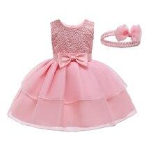 Newborn infant Baby Dress Cotton Toddler Dress