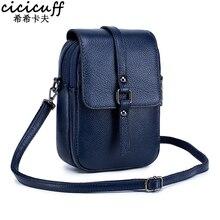 Mobile Phone Bag for Women Phone Pocket Genuine Leather Handbags Shoulder Bag Woman Crossbody Bags Small Bags for Phones Bolsa